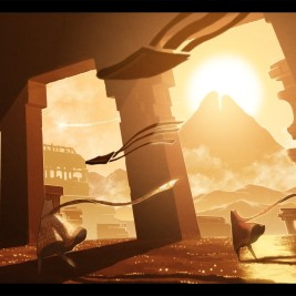 Journey: beautiful, wordless game with amazing music and mysterious story