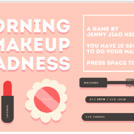 Speed run your morning makeup. The results will be mixed...
